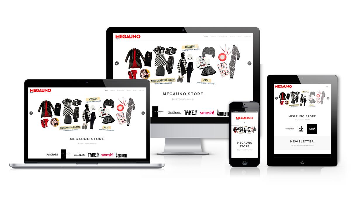 Nuovo sito online megauno store megauno store for Megauno civitanova arredamento