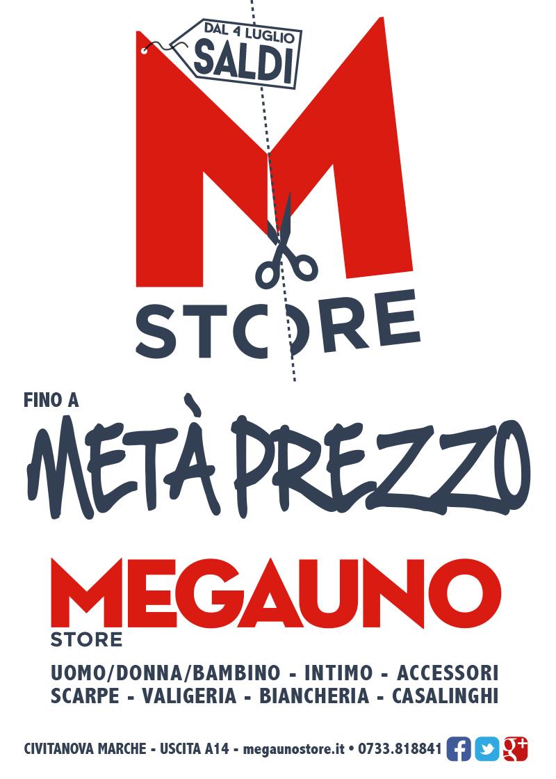 4 luglio saldi megauno store