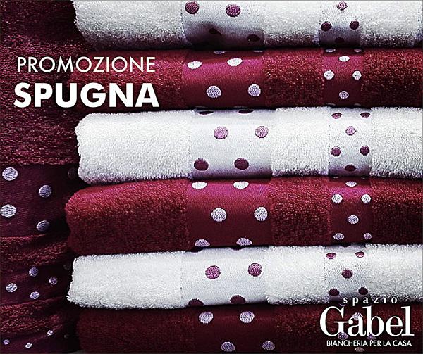 Promozione SPAZIO GABEL: sconto del 41% sugli asciugamani in spugna colorati. La promozione è valida fino al 31 Maggio